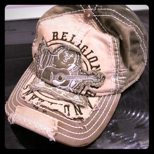 True religion trucker hat